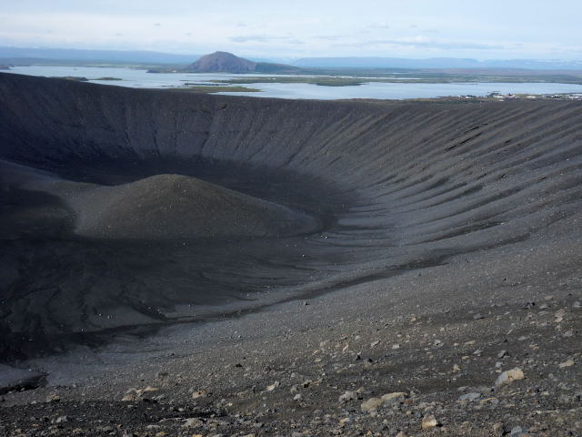 Craterul Hvertjall (stins)