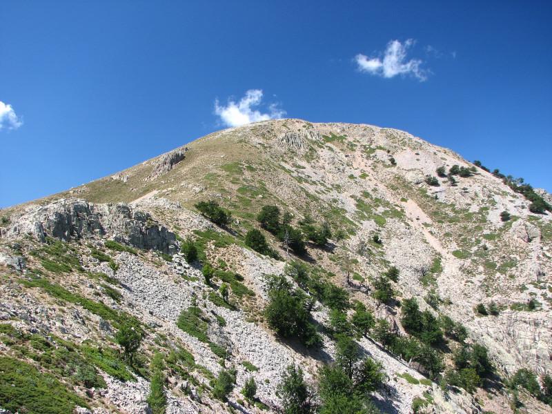 O privire în urmă spre versantul pe care l-am traversat
