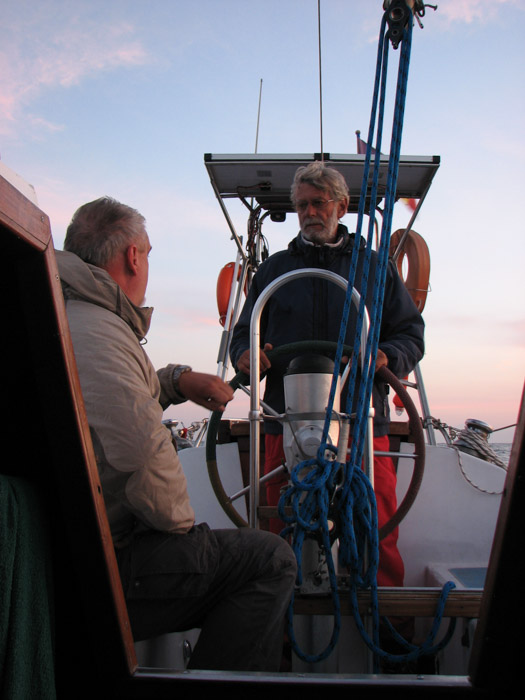 Skipperul la timonă