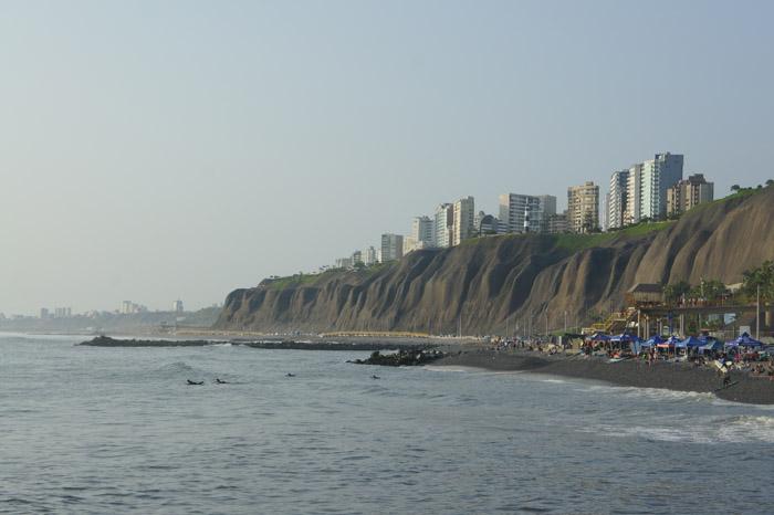 Oceanul Pacific , Lima, Miraflores