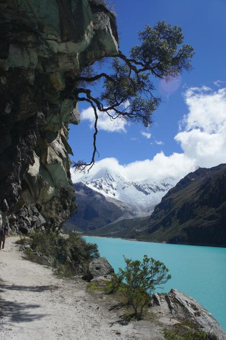 Laguna Paron la 4200m altitudine