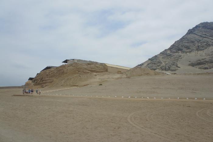 Huaca de la Luna - ansamblu