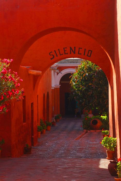 Santa Catalina - coridorul de acces