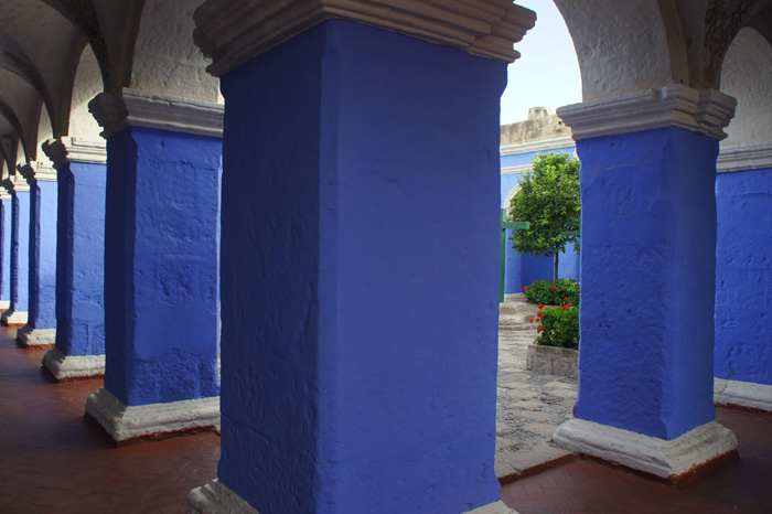 Santa Catalina, interior
