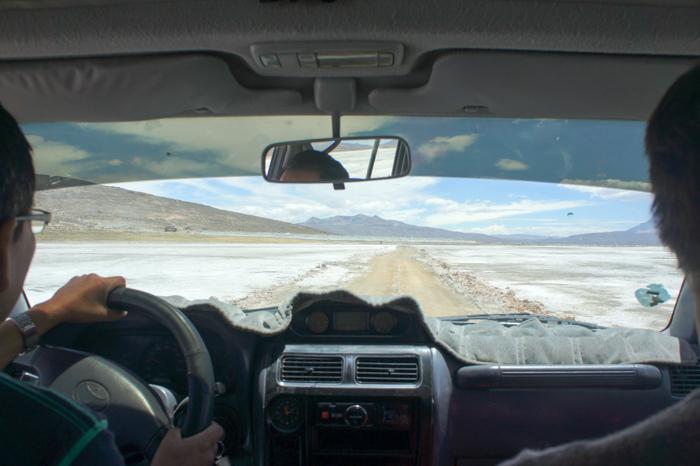Drumul pe sare