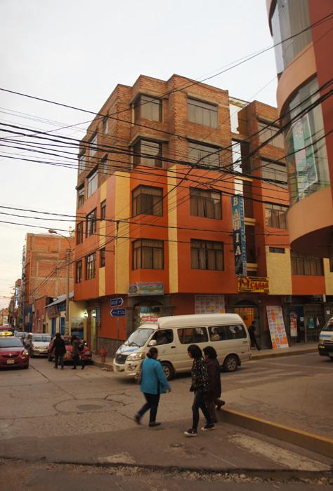 Stradă în Puno