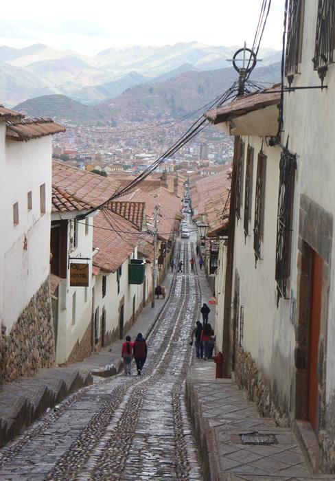 Stradă în Cusco