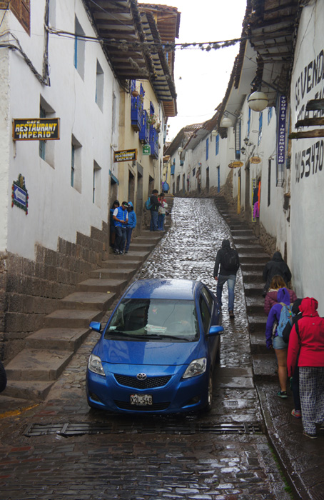 Prin cartierul San Blas