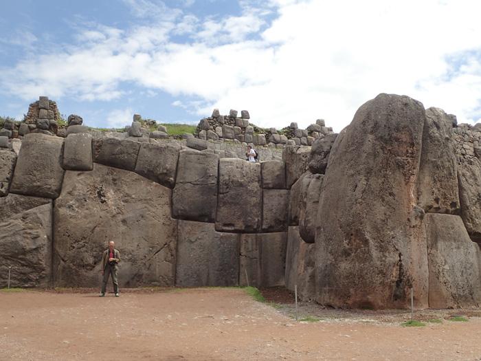 Ziduri ciclopice la Sacsayhuaman