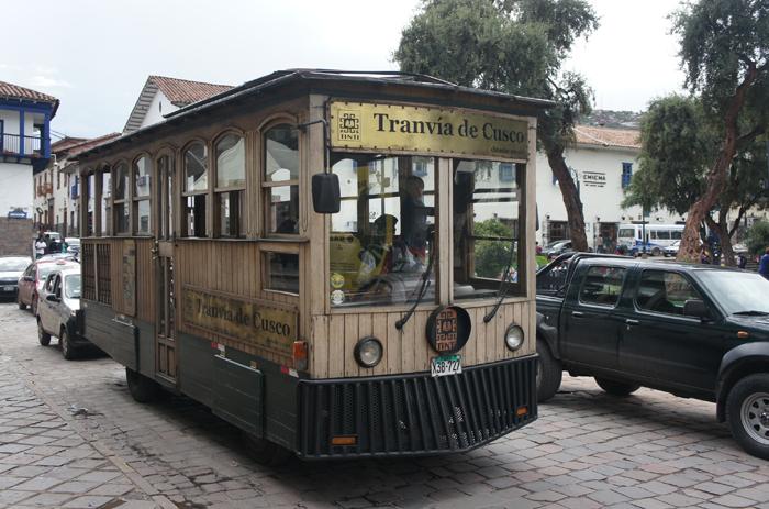 """""""Tramvaiul"""" din Cusco"""