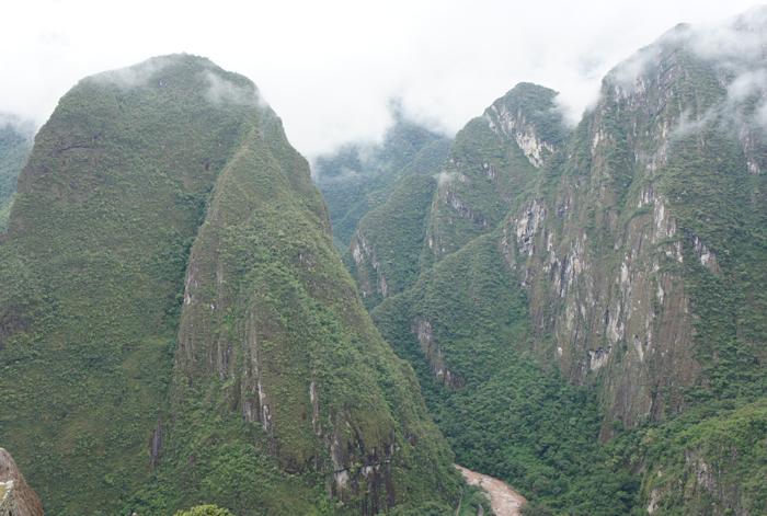 Machu Picchu - cadru natural