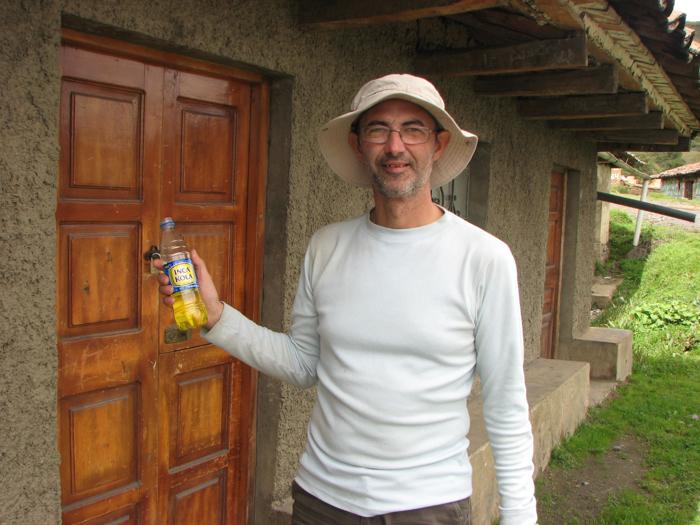 Experimentând Inka Cola