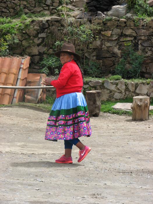 Țărani din Peru