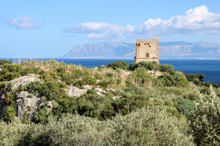 Turn în Scopello