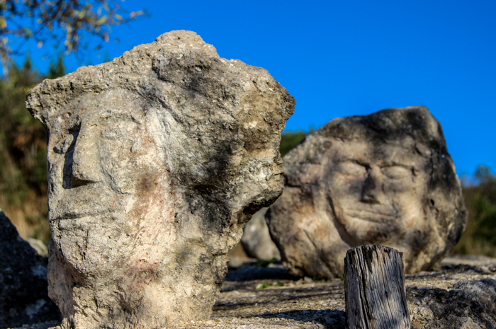 O lume de piatră