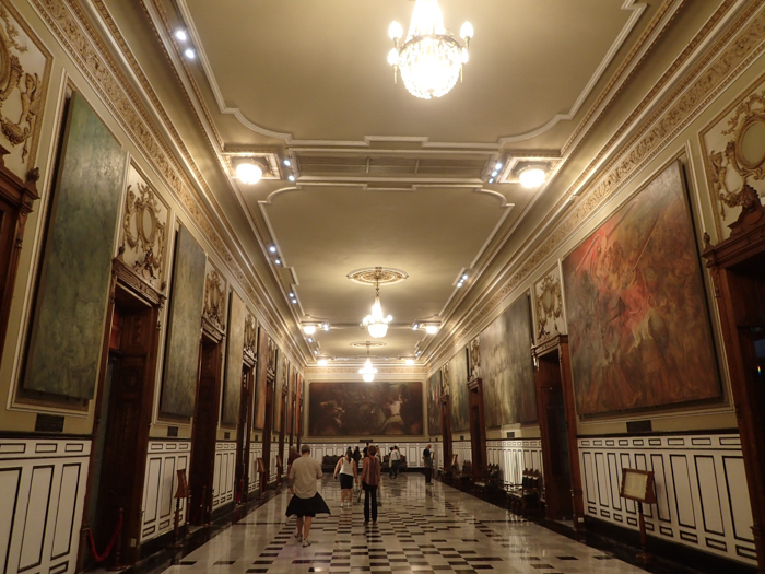 Palatul Guvernatorului - pinacoteca