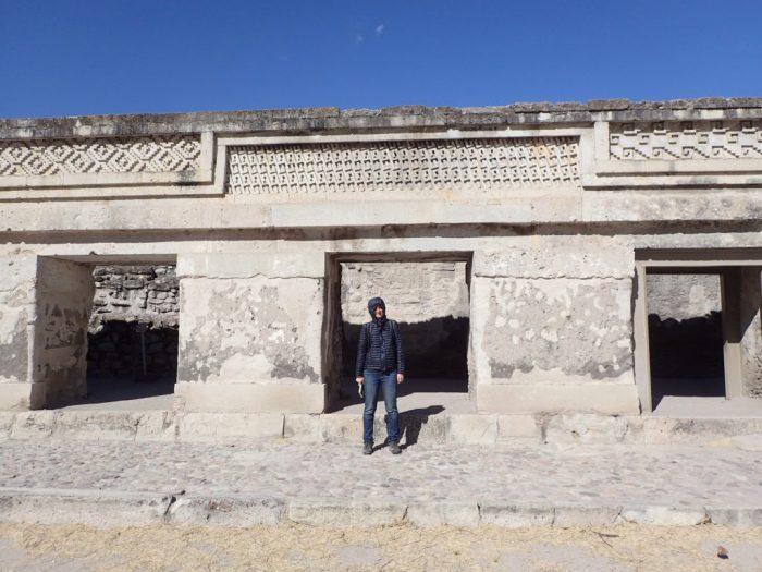 Mitla, Templul coloanelor